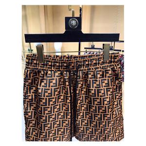 Pantalones playa de los hombres Marca de moda pantalones de tela escocesa de impresión ocio deportivo cómodo y transpirable cortos Impresión creativa Beach