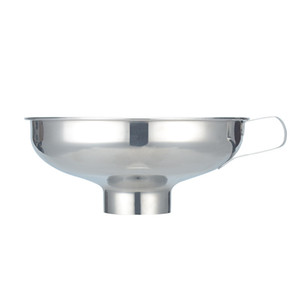 Stainless Steel Funnel Wide Mouth Funnel Food Glass Bottles Hopper Thicken Kitchen Gadget Specialty Tools Two Sizes
