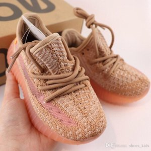2019 Kids Infant Designer Shoes Youth Running Shoes Clay Ture Form Static Wave Runner Boy Girl Children Toddler Sneakers