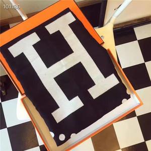 Wholesale- Herbst und Winter-Art-langer Schal aus 100% Cashmere Designer Frauen weichen Tuch Luxus Marke Original-Geschenk Handtasche