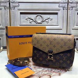 Women Designer handbag messenger bag oxidizing leather POCHETTE metis elegant shoulder bags crossbody bagsLVLOUISVUITTON