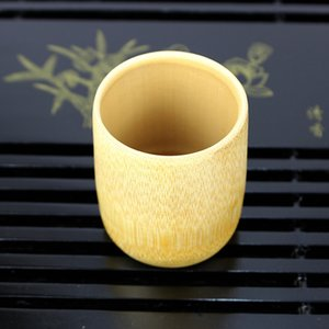 Natural Bamboo Tea Cups Water Beer Coffee Juice Cups for Kitchen