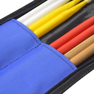 Taşınabilir Su geçirmez Drumsticks Depolama Kılıfı Davul Çanta Vurmalı Çalgılar Aksesuarlar Sticks