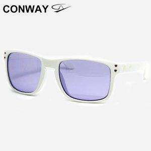 Conway Yaşam Erkekler Kadınlar TR90 Polarize Kare Brand için spor Güneş 9102 Balıkçılık Beyzbol Sürüş Çalıştırmak için
