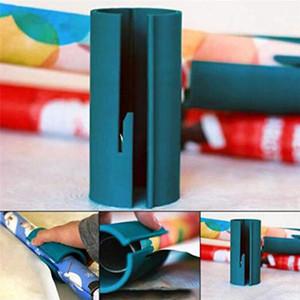 Оберточной бумаги Резак Уникальный Sliding рулонной бумаги Катера триммер инструмент для Рождества наклейки бумаги вырезать в 2 секунды Быстрый и легкий JXW366