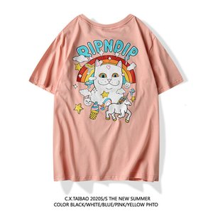 Men's T-shirt with high-end cotton comfortable and breathable 2020 designer fashionFFWY I04Z VIBW