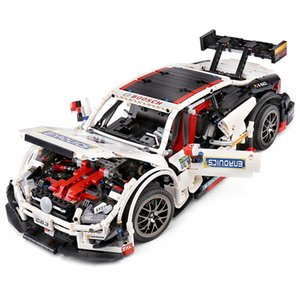 C63 Car Building Block Game Toys Sports car static Version 1: 8 Small Particles Assembled Blocks