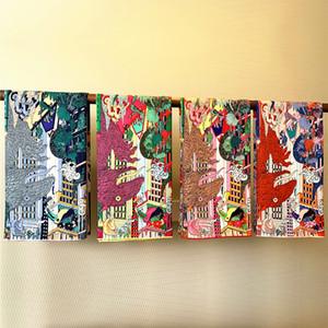 Hand-Laminati animali Natural Silk Stampa sciarpa fatta a mano d'epoca DONNA Foulards 90 90 sciarpa di raso scialle di seta testa Sciarpe lusso