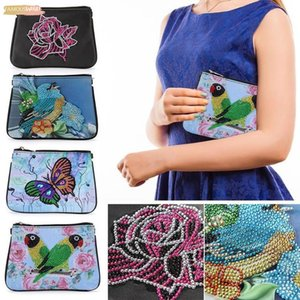 Diy Diamond Painting Bag Clutch Handbags Purse Embroidery Cross Stitch Wallet National Style Handbag Drilling For Women Gifts