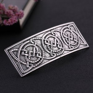 Women Vintage Style Spring Hair Clip Celtic Hair Barrette Hair Decoration for Women Girls