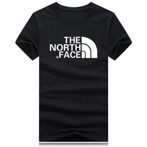 Nord mit Gesicht Männer T-Shirt mit hochwertigem Druck Frauen-T-Shirt neue Straße Hip-Hop-Paar-T-Shirts aus Baumwolle wilden T-Shirt heiß Bequemer Mann-T-Shirt