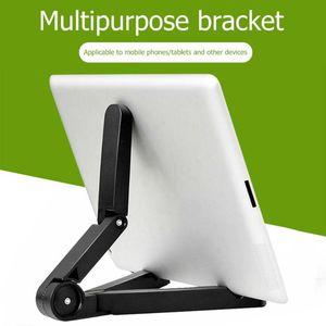 Tablet supporto del basamento registrabile pieghevole di supporto angolo staffa di montaggio per iPad Android e-book Kindle Phone Holder mobile del PC