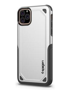 SGP de cas de téléphone cellulaire concepteur Hybird armure pour iPhone 11 Pro Max SE 2020 XR XS X 8 7 6s Plus 5 5s