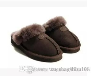 High quality Australia WGG Warm cotton slippers Men And Womens slippers Short Boots Women's boots Snow boots slippers Leather boot
