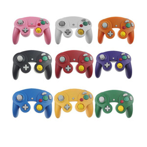 100PCS Wired Game Handle Gamepad Shock Stick JoyPad Vibration for NGC Controller come factory price
