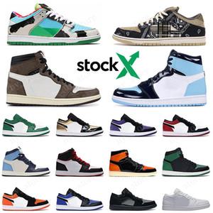 Ben Jerrys Chunky Dunky X Nike SB Dunk Uomo Donna Sneakers firmate Travis Scott Panda Pigeo Raygun Tie Dye scarpe da corsa da uomo