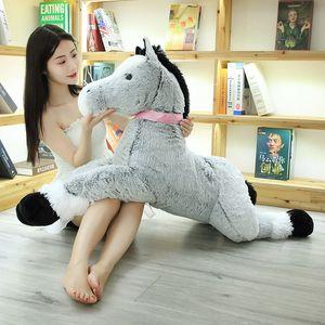 1pc 90cm 120cm Kawaii Unicorn Plush Toys Giant Stuffed Animal Horse Toys for Children Soft Doll Home Decor Lover Birthday Gift