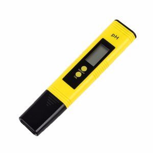 4PCS Portable LCD Digital PH Meter Pen tester High Accuracy Aquarium Pool Water Wine Urine Automatic Calibration PH Monitor