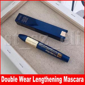 Maquillaje de ojos Double Wear Zero-mancha Alargamiento Tenue et longueur extremas Negro Ojos naturales impermeables 9 ml cosmética