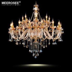 Luxury Modern Crystal Chandelier Light Fixture Glass Chandelier Lighting Lustre Lamparas Pendant Hanging decor drop Lamp for Living Room
