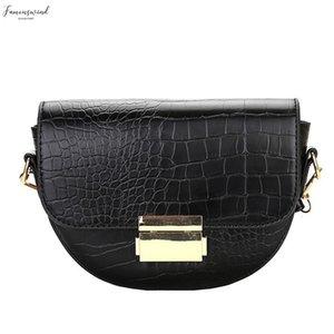 H30 Pu Handbags Women Bags Designer Alligator Pattern Shoulder Bag Simple Messenger Crossbody Bag Bolsa Feminina