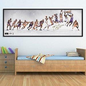 Salon Home Decor (No Frame) için Duvar Resim Sanatı Wall Art Resimler Boyama Klasik Basketbol Yıldız Poster Dekoratif