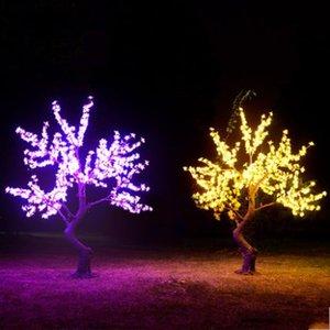 Lámpara LED árbol simulado árbol de la lámpara al aire Municipal Plaza iluminación del paisaje Garden Park Villa Césped Patio de Navidad LLFA