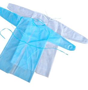 One Piece protection à usage unique Costume nontissés Anti costume Combinaison poussière robe Vêtements de protection à usage unique Kitchen Salopette KKA7942