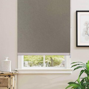 100% Blackout Grey Home Roller Blinds Customized Blinds Thermal Thermal Ombra a rullo per ombrellone Square Meter Versione