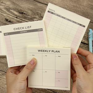 Kawaii Mignonne Hebdomadaire Planificateur De Travail Chaque Mois Livre Journal Agenda Ordre Du Jour Filofax Pour Enfants Fournitures Scolaires