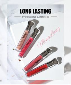 Menglang Lasting Matte Gloss Brillant Sexy Nude Lipstick Lip Matte Liquide Rouge à Lèvres Imperméable Longue Durée Rouge À Lèvres Maquillage Idée Maquillage