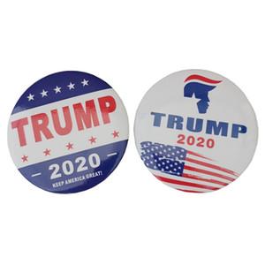 새로운 트럼프 2020 브로치 편지 유지 미국 큰 가슴 핀 미국 국기 대통령 캠페인 브로치 호의 선물 HHA700