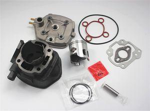 Motos Motor Cilindro SR 50 70cc Big Bore Cilindro Barrel Kit para APRILIA Sr Fábrica 50 04-09 Rua 03-08 47mm / 10mm