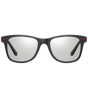 New Alloy Polarized Photochromic Sonnenbrille Herren UV400 Driving Fishing Transition Chameleon Lens Sonnenbrille