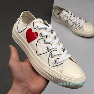 1970 Play shoe chuck 70 all star chaussures Canvas Jointly Big With Eyes Heart Beige Black designer casual Skateboard Sneakers 35-44 11c