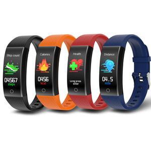 QW18T Smart Bracelet Sleep Monitor Fitness Tracker Blood Pressure Temperature Monitoring Wristband Sport Smart Band Waterproof Watch