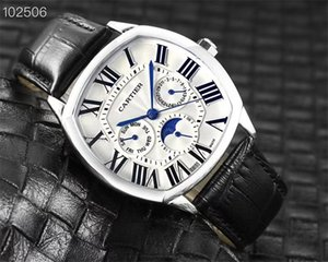 2020 high quality personality designer fashion luxury men's watch Working Multifunction top brand casual famous watches.100