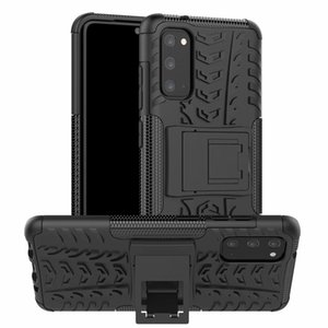 Shockproof Silicone Kickstand Armor Phone Case for Samsung S20 Plus S10 S9 S8 Note 10 S10E A6 A8 J4 J6 2018 Back Cover