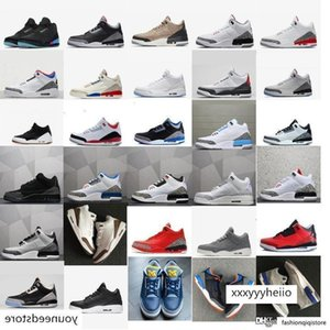 Cheap mens Jumpman 3 basketball shoes 3s Michigan UNC Blue Georgetown OG Black Cement White aj3 Tinker NRG j3 retro sneakers boots with