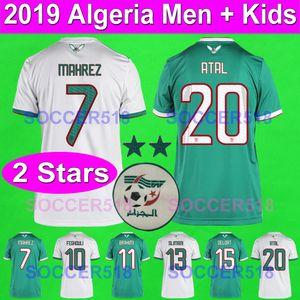 2019 2020 MAHREZ الجزائر ATAL مايوه الجزائر دي القدم 19 20 بالقميص لكرة القدم 2019 كأس أفريقيا لكرة القدم الجزائرية MAILLOTS القمصان DELORT أطفال مجموعات
