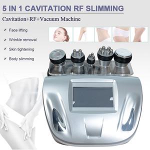 Nueva liposucción 40k cavitación ultrasónica máquina de pérdida de peso al vacío cuidado de la piel monopolar rf máquina de belleza envío gratis