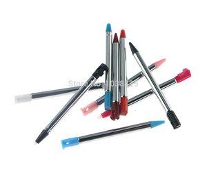2pcs / lot métal rétractable écran tactile Pen pour Nintendo 3DS Stylus
