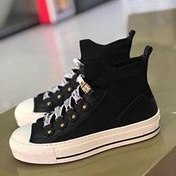 Platform Shoes di lusso Designer economici Scarpe Uomo Casual economico migliore delle donne degli uomini moda scarpe da tennis alta qualità del partito Velluto Chaussures dfm04