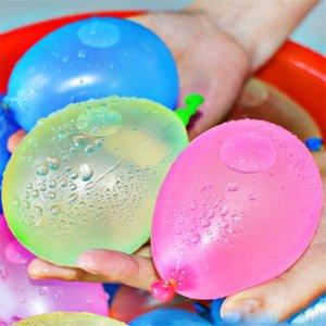 Latex balões de água bolas de água Bomba Bomba Rápido Injection Beach Games Verão de água inflável Ballons sprinking