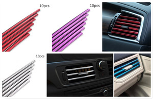 10шт автомобиль авто защитная полоса личность кондиционер выходная накладка для i8 Z4 X5 X4 X2 X3 M5 M2 X6 M6 640i 640d