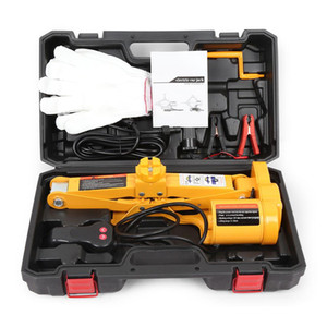 Automotive 12V Electric Hydraulic Jack One Key Operation Tire Repair Tool