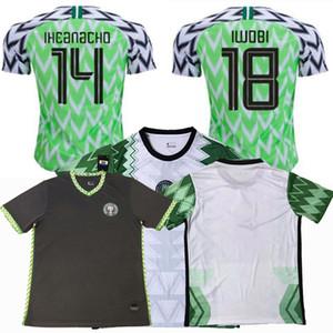 كرة القدم بالقميص 2019 2020 2021 نيجيريا MUSA ميكيل 20 21 المنزل بعيدا كرة القدم الرجال والنساء والاطفال قمصان