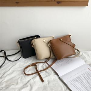 Edição coreana new women bag M1905-2039 summer hot sale contracted joker portable female bag casual retro small bucket bag