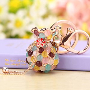 2020 new fashion Factory wholesale car key chain, personalized key chain for creativegifts,metal key chain with women bag pendant
