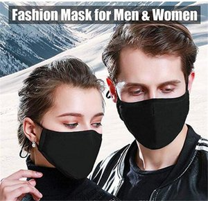 1pc Sponge Face Mask Filter PM2.5 Air Pollution Anti Dust and Nose Protection Reusable with Breathing Valve Mouth Face Mask Man Woman